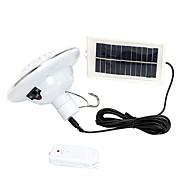 1ks solárního 22 vedl krytý venkovní bezpečnostní lampy dálkové ovládání povodeň světlo krajiny lampy pro trávník patio zahradní plot