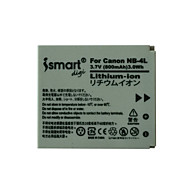Ismartdigi 4l 3.7v 800 mAh μπαταρία φωτογραφικής μηχανής για canon ixus 230 220 115hs 130 120 110 100