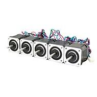 3d εκτυπωτής nema 17 stepper μοτέρ γραμμική βίδα 2 φάση 3d μηχανή χάραξη εκτυπωτή (πακέτο των 5pcs)