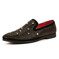 Férfi cipő Szintetikus Mikrorost PU Tavasz Ősz Kényelmes Könnyű talpak Búvárcipő Papucsok & Balerinacipők Kompatibilitás Hétköznapi Party