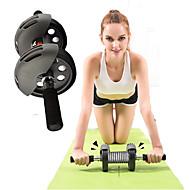 גלגלים ורולרים לבטן Push-Up ברים יוגה כושר גופני כושר וספורט חדר כושר דעיכה עמיד Wheels אימון כוח פלדת אל חלד + ABS דרגה A-