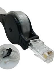 כבל אינטרנט בכבלים נטו רשת RJ45 1.5m Ethernet נשלף CAT5 LAN למחשב נייד