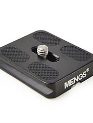 mengs® pu50 quick release plaat voor video camera dslr
