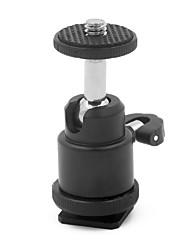 mengs® mini 360 graden draaibare balhoofd voor DSLR / SLR camera statief, LCD-monitor, flitslicht beugel etc-21.5
