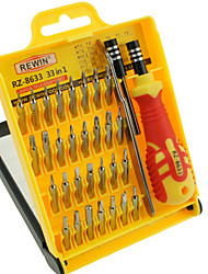 precisão 33pcs ferramenta rewin® chave de fenda eletrônica conjunto de ferramentas conjunto de mão