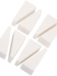 8 PC / Los Nagel-Kunstpufferdatei Block Pediküre Maniküre-Polierlack weiß Make-up Beauty-Tools Schleifen