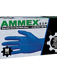nitril wegwerphandschoenen laboratorium handschoenen duurzaam nitril verdikte olie