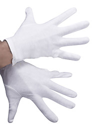 luvas de algodão espessamento luvas cerimoniais luvas brancas tarefas de trabalho geral