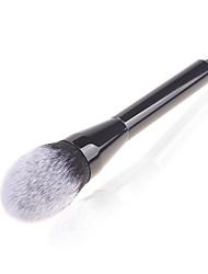 1 Кисть для пудры Синтетические волосы Офис / Экологичность Plastic Лицо Прочее