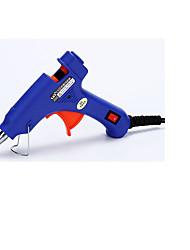 elektrisk hotmelt lim pistol med afbryder indikator