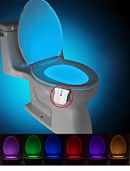 brelong atualizado impermeável movimento ativado nightlight WC levou sanita luz do banheiro banheiro DC4.5V