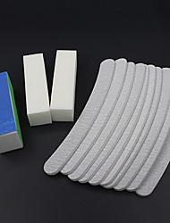 13 Stück / set Dateien Pufferblock Nagelkunstsalon Maniküre pedicurehilfsmittel UV Gel-Set Schleifen-Kits
