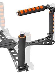 yelangu opvouwbare multifunctionele aluminium dslr schouder rig voor 5d260d7d550d