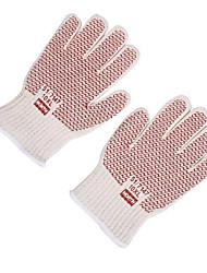 Honeywell tintle kralen geïsoleerde handschoenen. Hoge temperatuur bestand tegen 250 graden. Geen linkerhand is verdeeld door 1 dubbel /