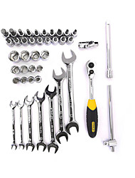 Stanley métrica fino polido abrir chave giratória manga 10 milímetros lt-022-23 autoworking ferramentas