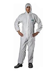 Sata anti-estática vestuário xxl respirável filme à prova de poeira e anti-estática pintura macacão de roupa de protecção química com cap