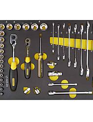 Stanley metric polido chave aberta dupla 36 peças lt-023-23 conjunto de ferramentas manual