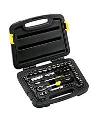 Stanley® 94-189-22 Ferramenta de reparo do conjunto de ferramentas de uso doméstico 65pcs 6.3mm / 10mm chave inglesa