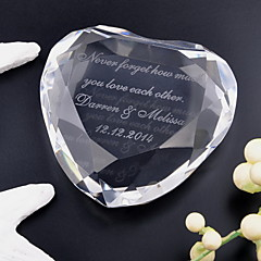 Brud Brudgom Krystal Krystal Varer Bryllup