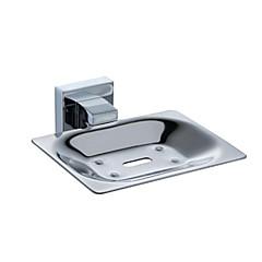 """PHASAT®,Sæbeskål Krom Vægmonteret 106*108*52mm(4.2*4.3*2"""") Rustfrit stål Moderne"""