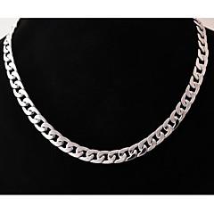 Herre Kjedehalskjeder Smykker Rustfritt Stål Titanium Stål Unikt design Mote kostyme smykker Smykker Til Bryllup Fest Daglig Avslappet