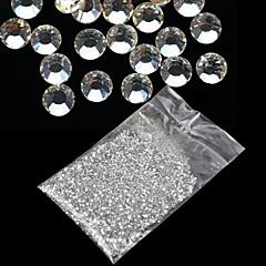 20000pcs 1.5mm nollan strassit kova tapaus kynsikoristeet koristeet akryyli uv geeli