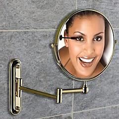 Spejl Ti-PVD Vægmonteret 20cm(8inch) Messing / Glas Antik