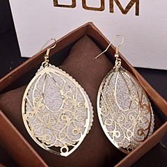 Femme Boucles d'oreille goutte Bijoux Fantaisie énorme bijoux de fantaisie Alliage Goutte Bijoux Pour Soirée Occasion spéciale