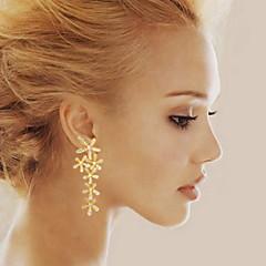 Pendentif d'oreille en forme de lustre Boucle Alliage Strass Femme