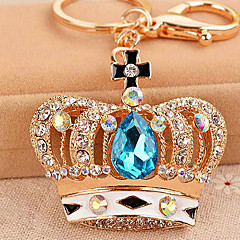 Crown Rhinestone Wedding Keychain Favor