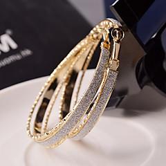 Femme Boucles d'oreille gitane Bijoux Fantaisie Fête / Célébration Mariée bijoux de fantaisie Alliage Forme de Cercle Bijoux Pour Mariage
