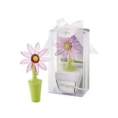 Bottiglia Favor Tappi bottiglia Asiatico / Farfalla / Classico Non personalizzato Plastica Rosa / Verde 1Pezzo/Set