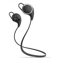 do bluetooth 4.1 fone de ouvido fones de ouvido estéreo qy8 esportes sem fio do fone de ouvido com microfone