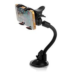 ziqiao 360 ° -ban elforgatható autó szélvédő szélvédő tartóval kettős klip telefon gps