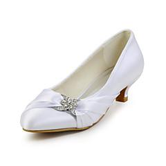 Avokkaat - Matala korko - Naisten kengät - Silkki -Musta / Pinkki / Punainen / Norsunluunvalkoinen / Valkoinen / Hopea / Samppanja /