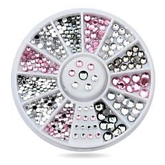 Nail Jewelry-Lovely-Sormi-Akryyli-6cm wheel-1wheel Rhinestone nail decorations