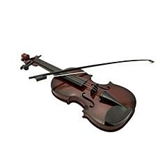 plast hnědý simulace dítě housle pro děti od 3 hudebních nástrojů hračka