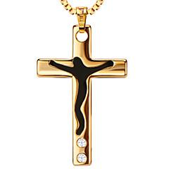 Anhänger Metall Cross Shape oro 20