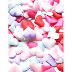 Satin Décorations de Mariage-100Pièce/Set Printemps Eté Automne Hiver Non PersonnaliséVendu par couleurs assorties, set de 100, couleurs