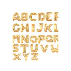 Ouro Balão Letter