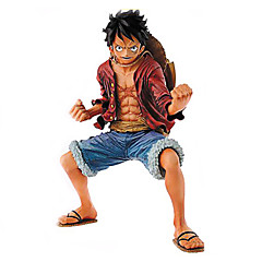 Anime Toimintahahmot Innoittamana One Piece Monkey D. Luffy PVC 18 CM Malli lelut Doll Toy