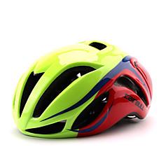 Capacete(Verde / Vermelho / Preto / Azul,PC / EPS) -Cara-Total / Montanha / Estrada / Esportes-Mulheres / Homens / Unisexo 17 Aberturas