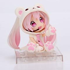 애니메이션 액션 피규어 에서 영감을 받다 코스프레 스노우 미쿠 PVC 14 CM 모델 완구 인형 장난감