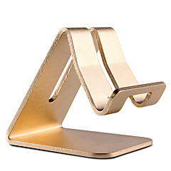 universel premium aluminium metal mobiltelefon tablet skrivebord holder stand iphone 8 7 samsung galaxy s8 s7
