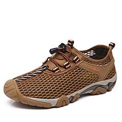 נעלי ספורט נעלי טיולי הרים נעלי יומיום נעלי ריצה בגדי ריקוד גבריםנגד החלקה Anti-Shake ריפוד אוורור פגיעה ייבוש מהיר לביש נושם עמיד בפני