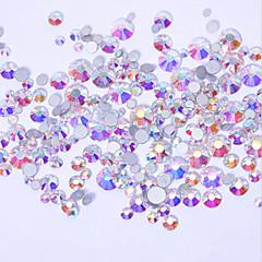 500 Nail Art Decoration tekojalokivi Pearls meikki Kosmeettiset Nail Art Design