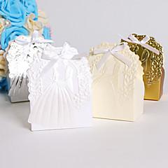 25 Adet/Set Favor Tutucu-Yaratıcı Kart Kağıdı Hediye Kutuları Kişiselleştirilmemiş