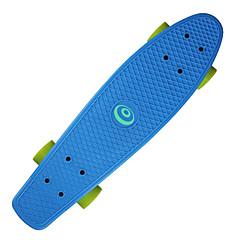 22,5 Zoll Cruisers Skateboard Berufs PP (Polypropylen) ABEC-7-Gelb Rot Grün Blau Rosa