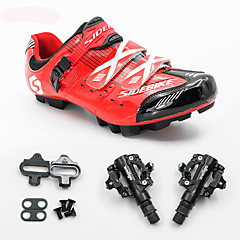 BOODUN/SIDEBIKE® Sneakers Mountainbikeschoenen Fietsschoenen met pedalen & schoenplaten Unisex Opvulling Bergracen Ademend Gaas PU