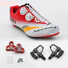 BOODUN/SIDEBIKE® Sneakers Wegwielrenschoenen Fietsschoenen met pedalen & schoenplaten Unisex Opvulling Straatfiets PU Rubber Wielrennen